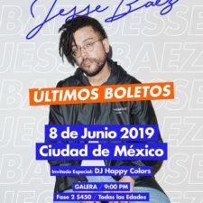 Jesse Baez de regreso a la Ciudad de México