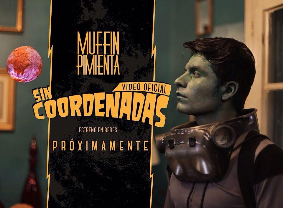 """""""Sin Coordenadas"""", el video sci-fi de Muffin Pimienta"""