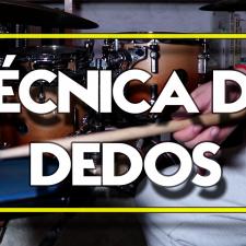Técnica de dedos para bateristas